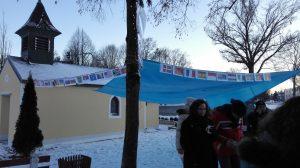Flaggen der Nationen die in Finsing leben