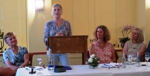 Podiumsdiskussion mit Doris Rauscher (MdL) und SPD Landtagskandidatin Gertrud Eichinger